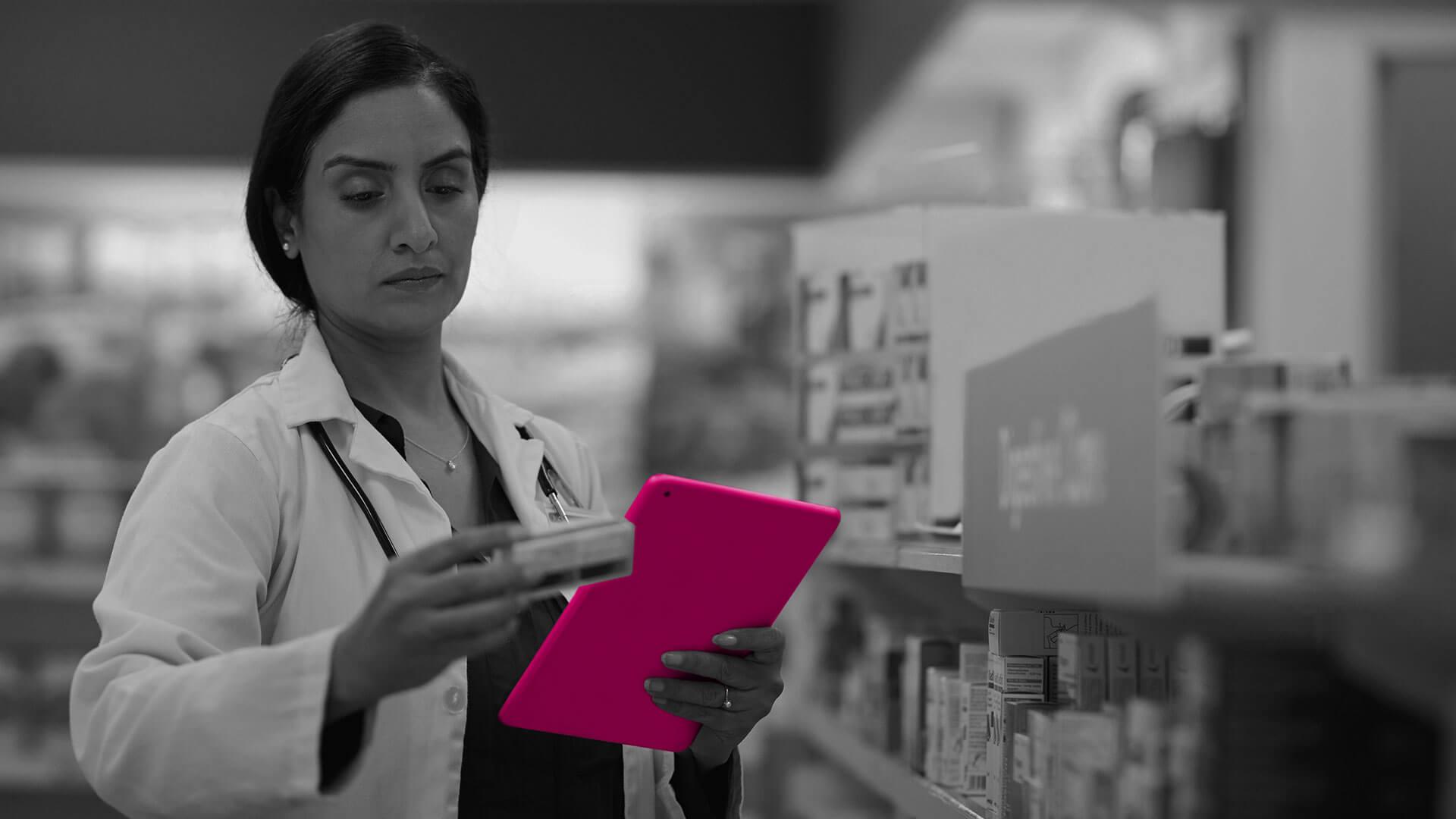 Individuelle Softwarelösung im Bereich Pharma