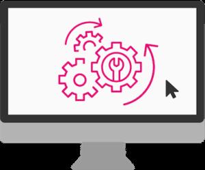 Grafische Darstellung von individueller Software