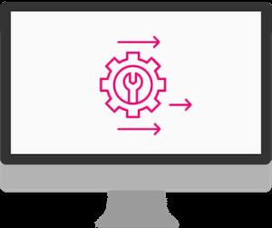 Grafische Darstellung von Standardsoftware