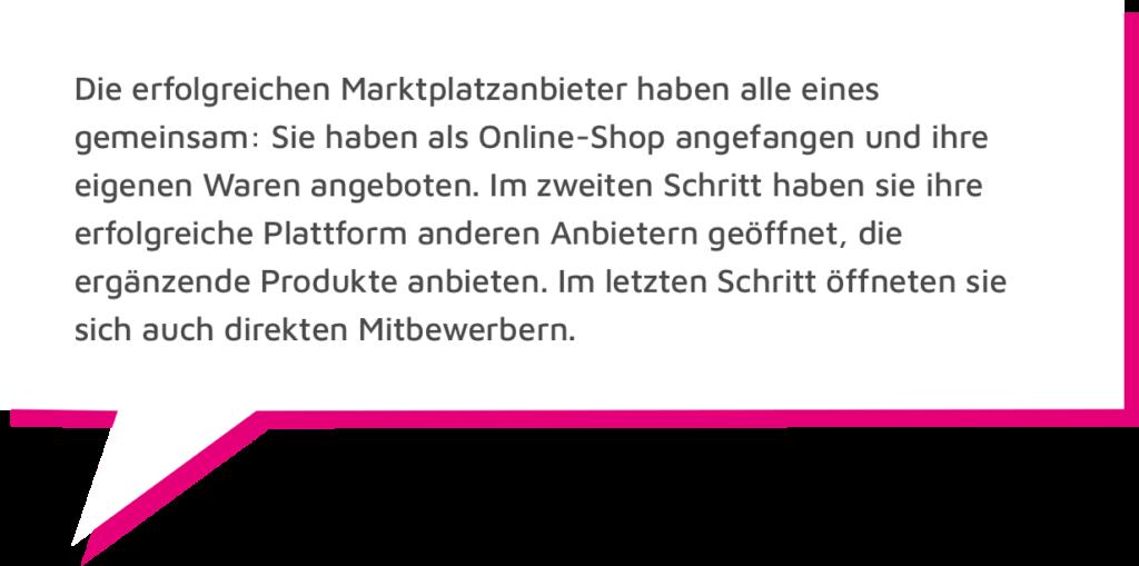 Dietmar Hölscher ZItat B2B Marktplätze