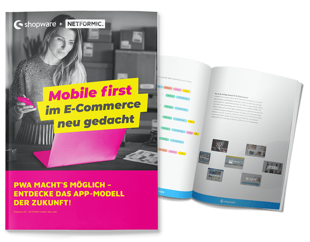 E-Book PWA Mobile first im E-Commerce neu gedacht