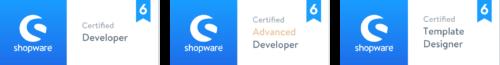 NETFORMIC Shopware Zertifikate