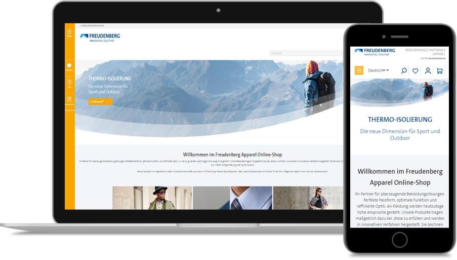 FREUDENBERG B2B Online Shop