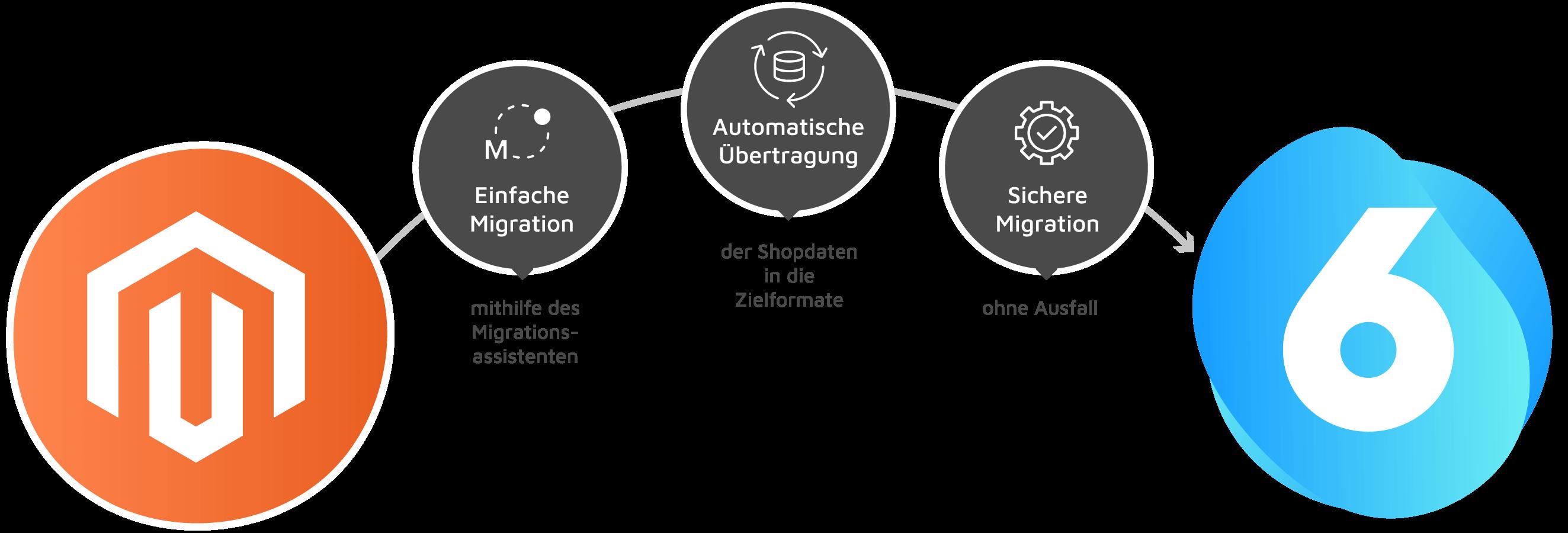 Grafik Shopware Migrations Assistent